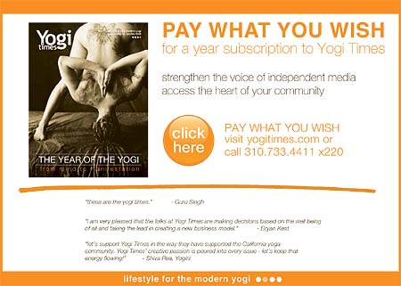Yogi Times - Subscription Ad
