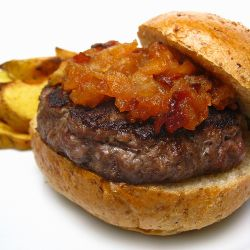 12_brie_stuffed_maple_burger_with_spicy_apple_bacon_compote_by_kat