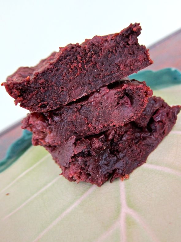 Paleo Brownies (with Cherries!)
